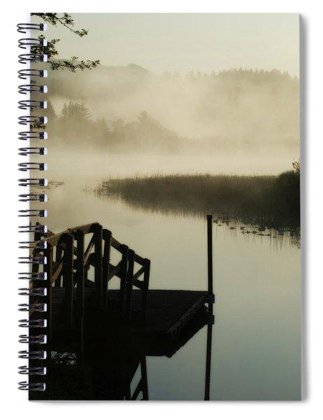 Misty Oregon Morning Spiral Notebook