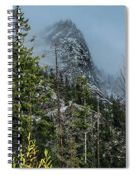 Misty Pinnacle Spiral Notebook
