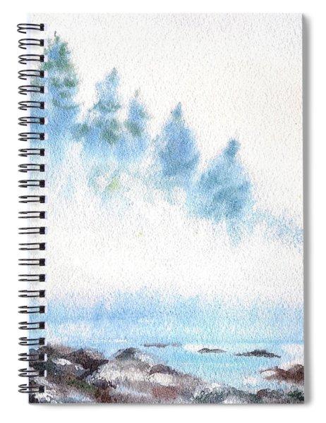 Misty River Spiral Notebook