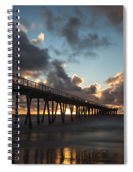 Misty Sunset Spiral Notebook
