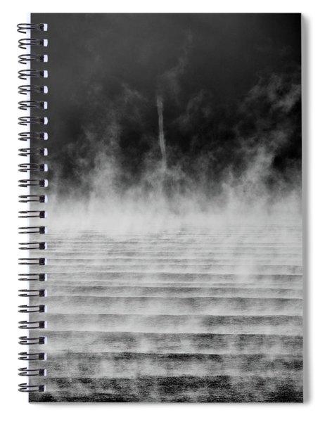 Misty Twister Spiral Notebook