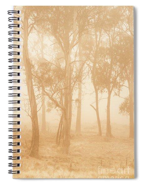Misty Woods Spiral Notebook