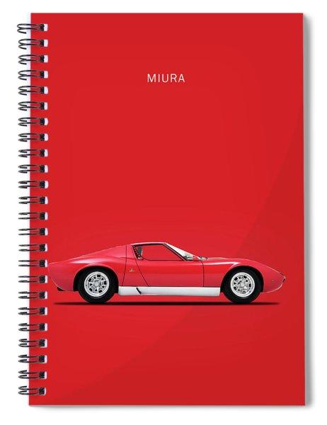 Miura 69 Spiral Notebook by Mark Rogan