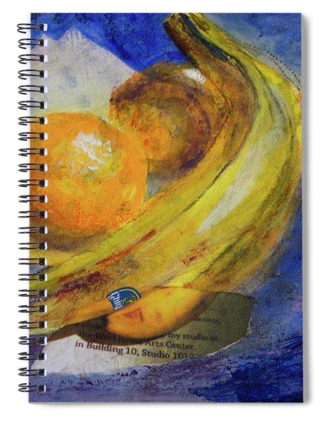 Mixed Fruit Spiral Notebook