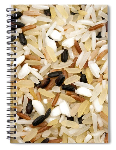 Mixed Rice Spiral Notebook