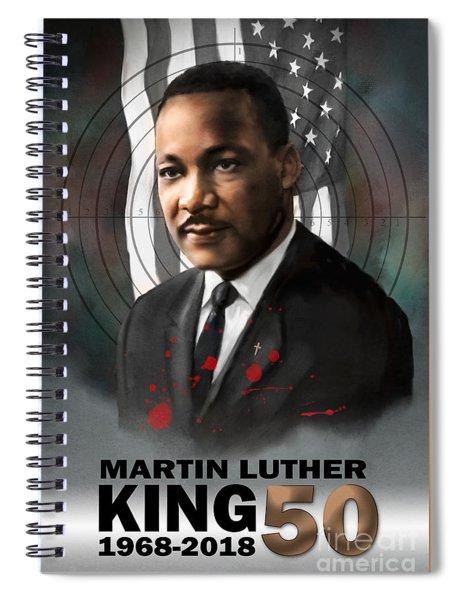 Mlk50 Spiral Notebook