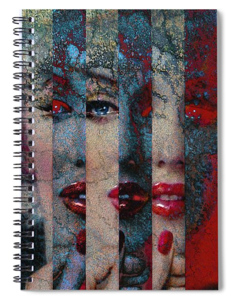 Mmarilyn 132 Sis Spiral Notebook