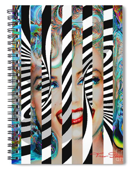 Mmother Of Pearl Sis 3 Spiral Notebook