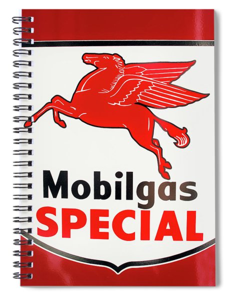 Mobilgas Vintage 82716 Spiral Notebook