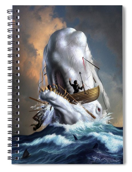 Moby Dick 1 Spiral Notebook