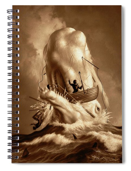 Moby Dick 2 Spiral Notebook