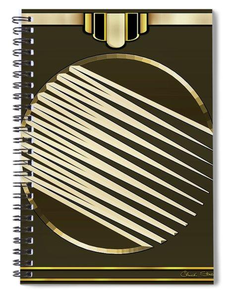 Mocha 1 - Frame 1 Spiral Notebook