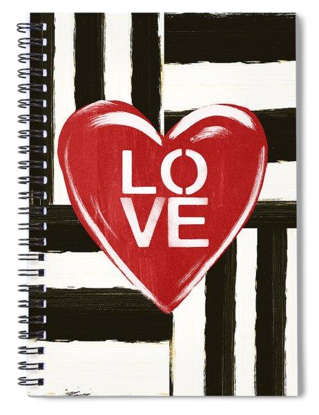 Modern Love- Art By Linda Woods Spiral Notebook
