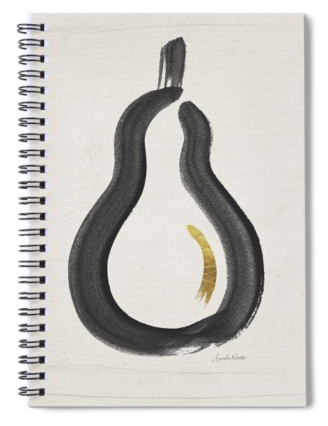 Modern Pear- Art By Linda Woods Spiral Notebook
