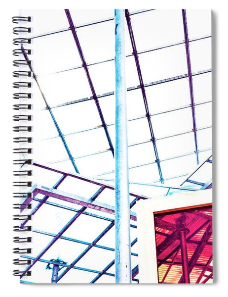 Modern Roof Spiral Notebook
