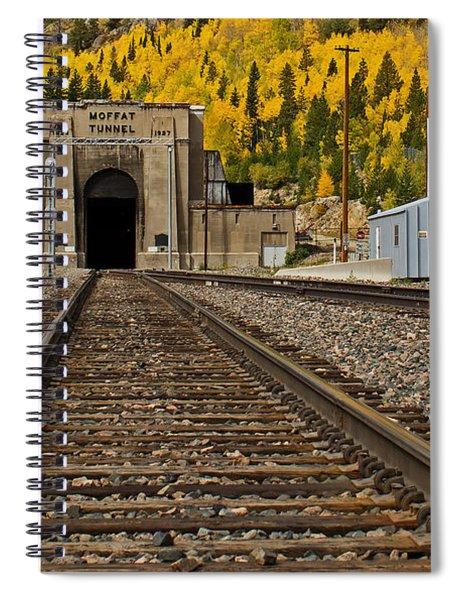 Moffat Tunnel Spiral Notebook