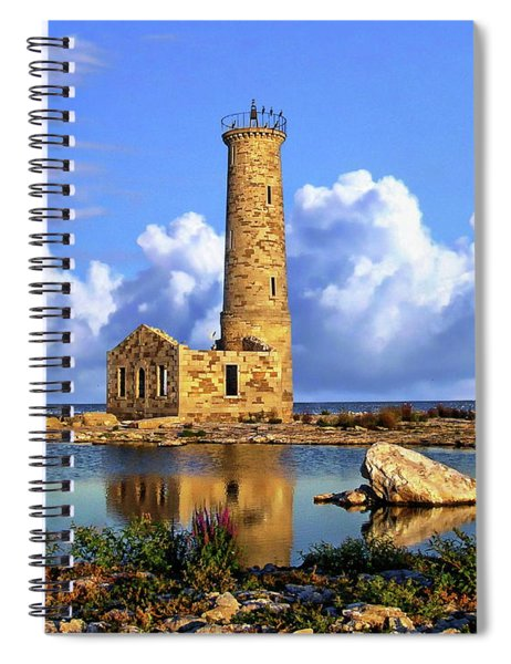 Mohawk Island Lighthouse Spiral Notebook