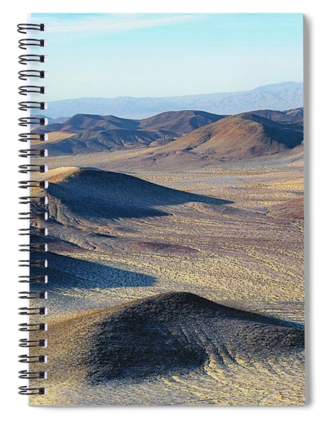 Spiral Notebook featuring the photograph Mojave Desert by Jim Thompson