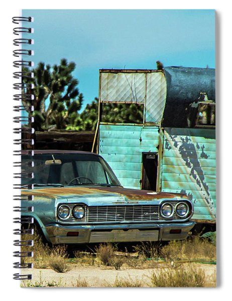 Mojave Relics Spiral Notebook