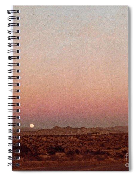 Mojave Sunset Spiral Notebook