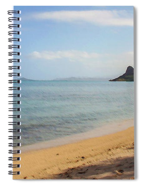 Mokolii  And Kayak Spiral Notebook