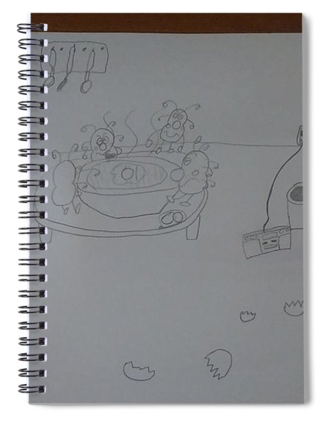 Mold Party Spiral Notebook