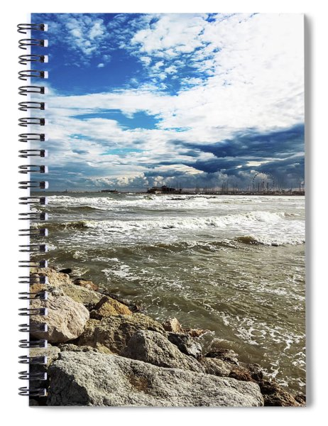 Mole Stones  In Rimini Spiral Notebook
