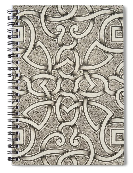 Mollet Design For A Parterre Spiral Notebook
