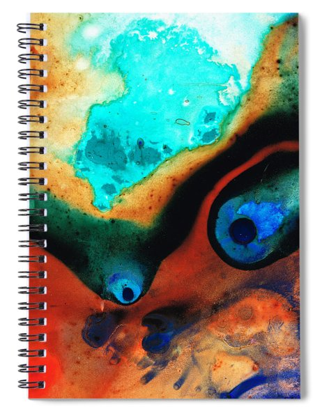 Molten Earth Spiral Notebook