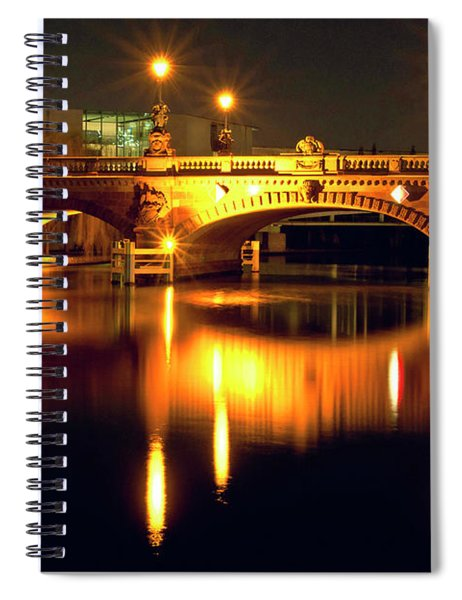 Nocturnal Sound Of Berlin Spiral Notebook