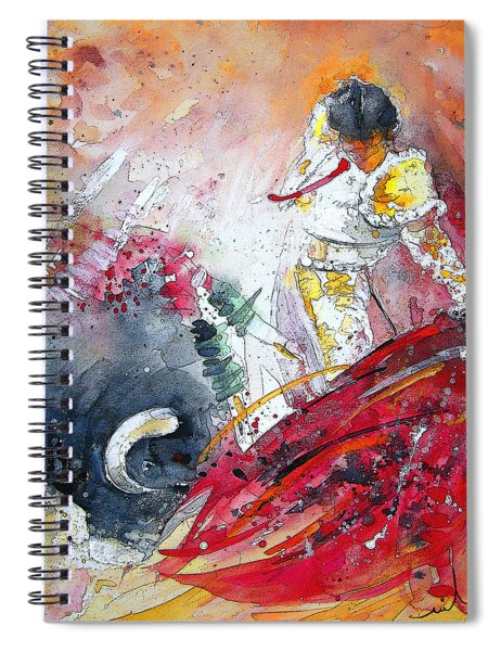 Moment Of Truth 2010 Spiral Notebook