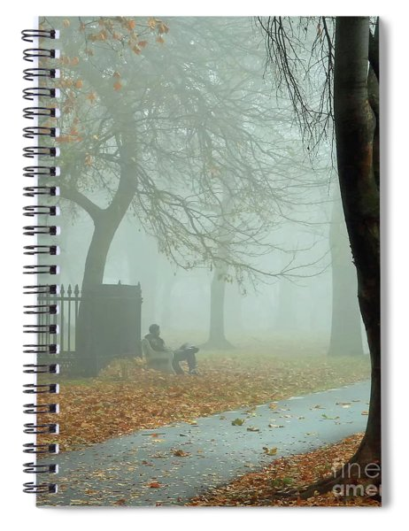 Moments Alone Spiral Notebook