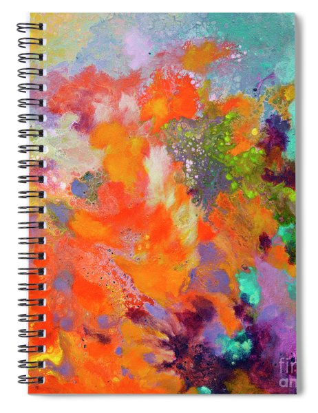 Momentum, Canvas Two Spiral Notebook