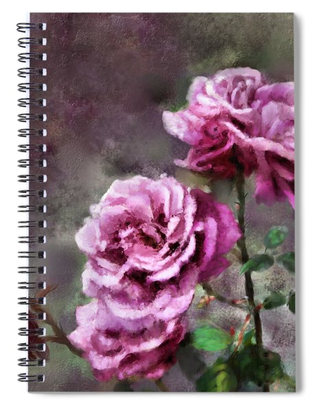 Moms Roses Spiral Notebook