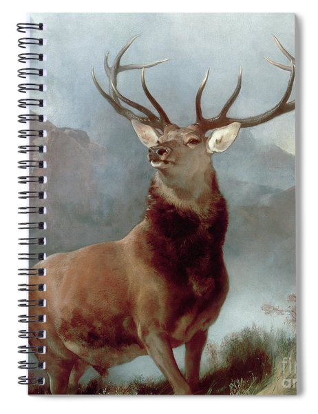Monarch Of The Glen Spiral Notebook