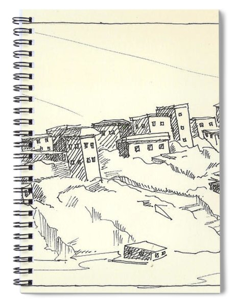 Monastery Spiral Notebook