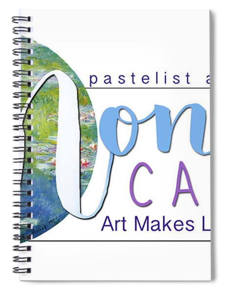 Monet Cafe' Products Spiral Notebook