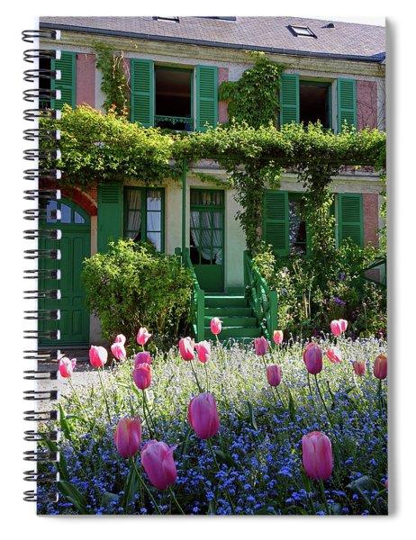 Monet House Spiral Notebook