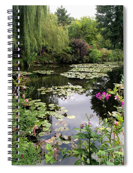 Monets Garden, Giverny, France Spiral Notebook