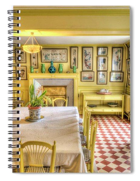 Monet's Kitchen Spiral Notebook