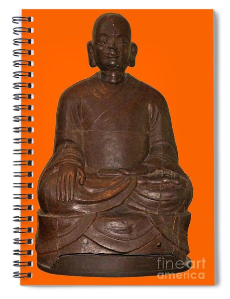 Monk Seated Spiral Notebook
