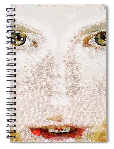 Monkey Glows Spiral Notebook