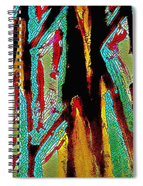 Monkey Young  Spiral Notebook
