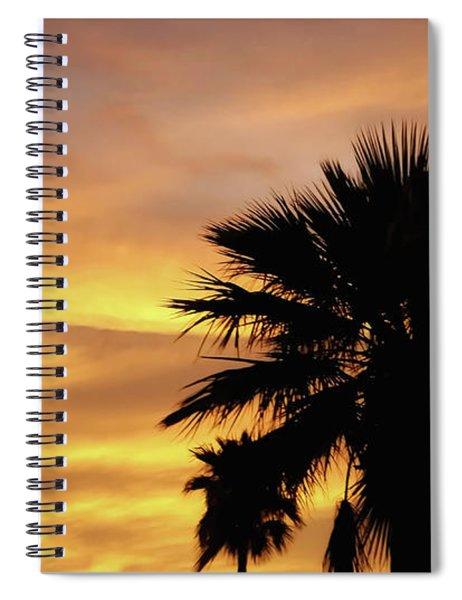 Monsoon Sunsets 2018 Spiral Notebook