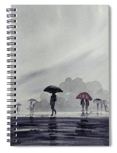 Monsoons Spiral Notebook