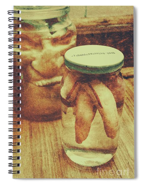 Monster Mementoes And Trophies Spiral Notebook
