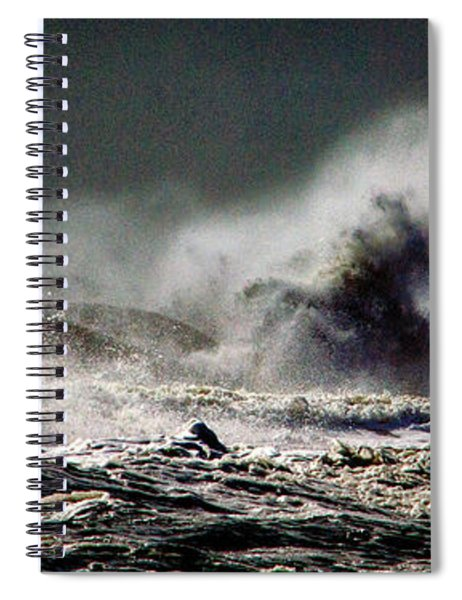 Monster Of The Seas Spiral Notebook