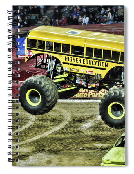 Monster Truck -higher Education Spiral Notebook