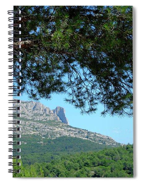 Mont Puget Marseille Spiral Notebook