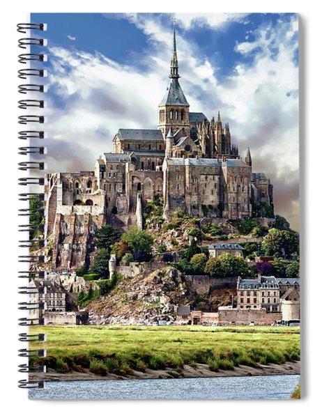Mont Saint-michel Spiral Notebook